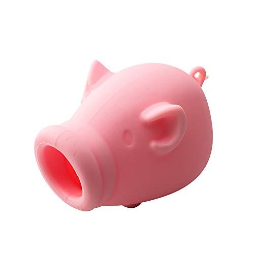 HiCollie 黄身取り器 卵黄身分け器 卵黄セパレータ 卵白 エッグセパレーター 調理器具 ベーキング キッチンツール シリコン製 可愛い動物形 キレイに分離できる (ピンク)