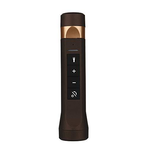 OPAKY Outdoor Taschenlampe Bluetooth Lautsprecher Power Bank FM Radio für iPhone, Samsung usw.