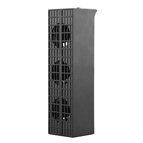DC 5V PS4 Auto Turbo Ventilador de enfriamiento, Enfriador USB Externo, Enfriador Externo Ventiladores de enfriamiento con Control de Temperatura Turbo de 3 Ventiladores, para Playstation 4 Slim
