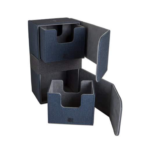ADC Blackfire Entertainment BF03204 Cabrio Premium Dual Deck Box, blau