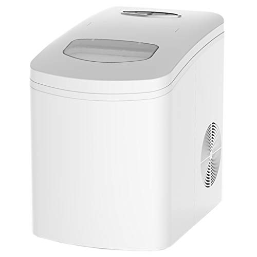 Ice maker Eiswürfelmaschine,Eiswürfelbereiter,10 Kg 24 H 6-8 Minuten Produktionszeit Eismaschine,Für Zu Hause, In Der Schule Und Für Den Gewerblichen Gebrauch ZY