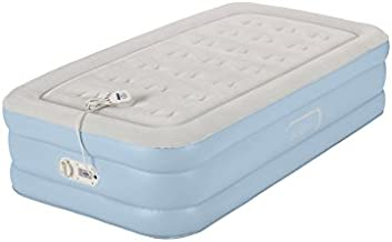 AeroBed Air Mattress with Built in Pump   Air Bed with One-Touch Comfort Pump, Twin