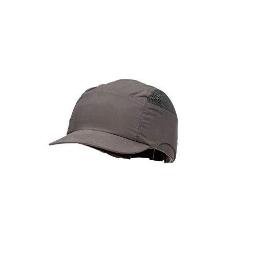 3M First Base+ Anstoßkappe / Kopf-Schutzkappe / Sicherheitskappe, Marineblau mit Mikro-Schirm 25 mm