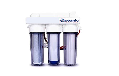 4 Stage - Hydroponic Reverse Osmosis Water Filtration System | 100 GPD | Manual Flush Valve - Plant Growth