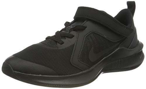 Nike Downshifter 10 (PSV), Scarpe da Corsa Unisex-Bambini, Black/Black-Anthracite, 33 EU