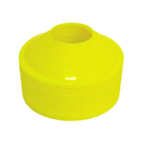 Soccer Innovations Mini-Trainingskegel, 15,2 cm, 24 Stück, gelb
