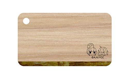 ゆるキャン△ SEASON2 なでしこ&リン 国産ヒノキ メスティンまな板