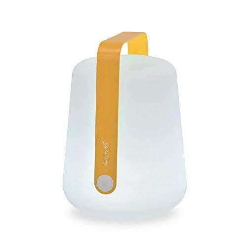 Fermob Balad mobile LED-Leuchte mit Akku Ø 28 cm H 38 cm (Honig)