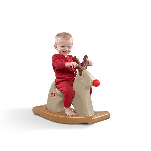 Step2 Rudolph The Rocking Reindeer Toy, Brown