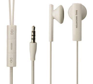 HTC MA253987 Binaural im Ohr Weiß Headset - Headsets (Binaural, im Ohr, Weiß, HTC One Mini 2, Verkabelt, Im Ohr)