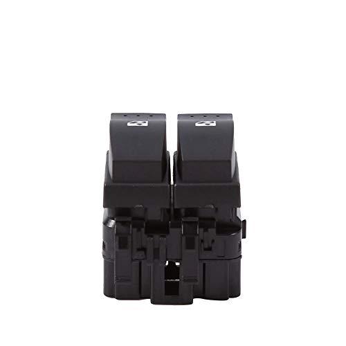 SUJIE Interruptor de la Ventana Botón de Interruptor Doble de Control de Ventana eléctrica de automóviles Compatible con Renault Clio II 2 8200 060 045 Estilo de automóvil Reemplazo