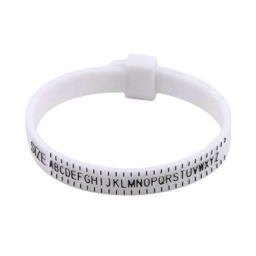 GGQT Ring Sizer,Finger Ring Adjustable Measures Tool,UK Size for Men and Women