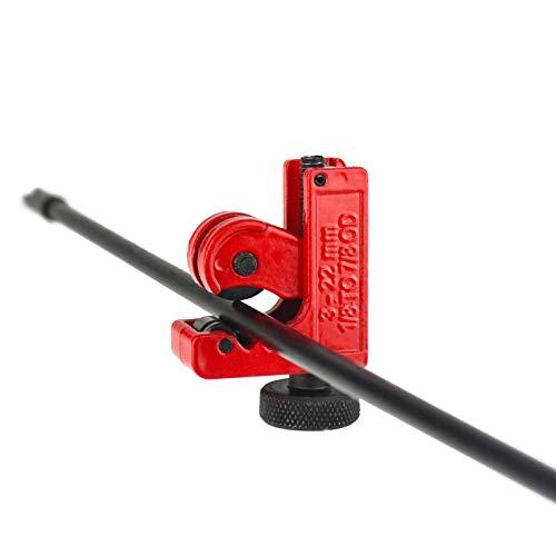 Ellen Archery Arrow Cutter Tube Cutter Pipe Cutter 3-22mm Diameter Cutting Tools for Fiberglass Arrow and Carbon Arrow