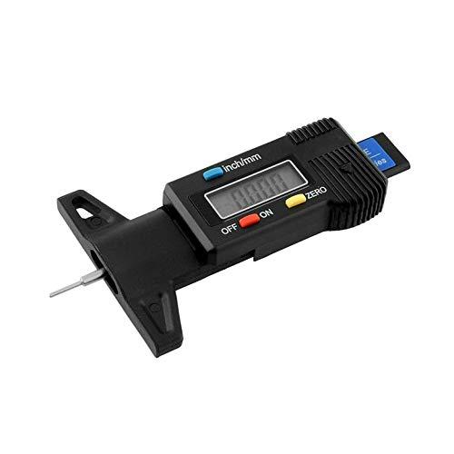 Draagbare 0-25 mm LCD-display auto digitale banden profieldiepte tester gauge