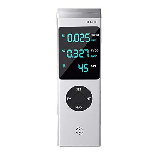 QIA Luftqualitätstester Formaldehyd-Detektor, HCHO APIs Smart Monitor und Strass Analysator Haushalt Monitor Gasmessung Formaldehyd
