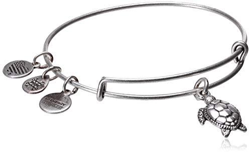 Alex and Ani Turtle Rafaelian Silver Bangle Bracelet