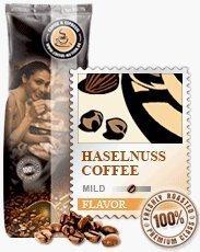 Coffee-Nation Aroma-Kaffee Haselnuss 1000g Bohnen | Spitzenqualität | Kaffeeliebhaber