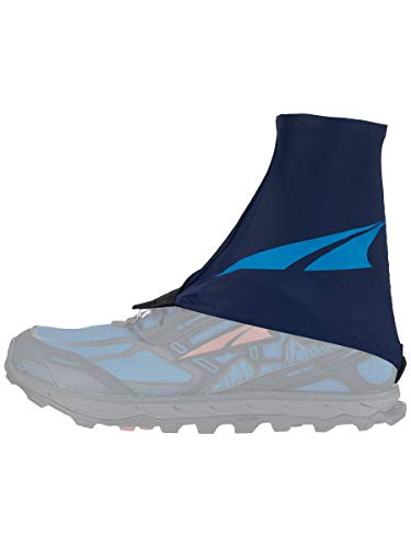 Altra Trail Gaiter Protective Shoe Covers, Navy/Light Blue, Large / X-Large
