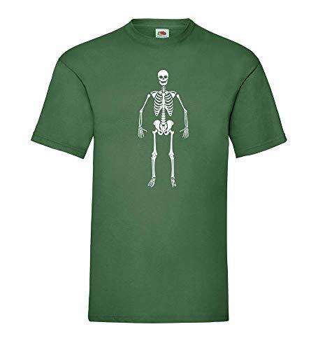 Generisch Esqueleto Hombre Camiseta - shirt84