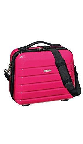 Kosmetikkoffer 14 L 33x30x16 cm Beauty Case London 2.0 Schminkkoffer Farbwahl (Pink)