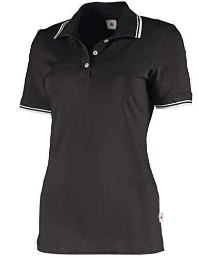 Whitewear Damen Polo-Shirt Piqué Mila Teampolo T-Shirt Praxis Arbeits-Kleidung Gr. XS anthrazit