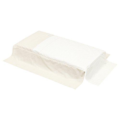 Edred/ón hipoalerg/énico para cuna de beb/é 4,5 tog Blanco disponible en gramaje de 4,5; de 7,5 y de 9 120cm x 150cm approx.