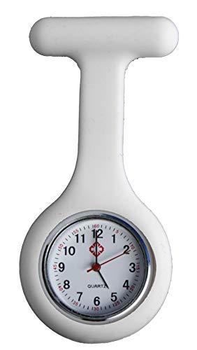 All u need Krankenschwester Schwesternuhr Weiß Taschenuhr Kitteluhr Pulsuhr Pflege Nurse Watch