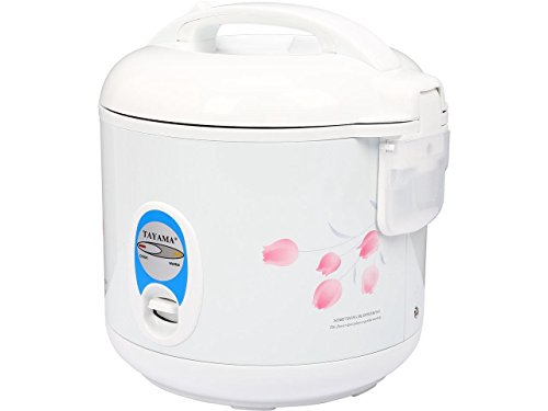 Tayama Automatic Rice Cooker Food Steamer 5 Cup White TRC-04R