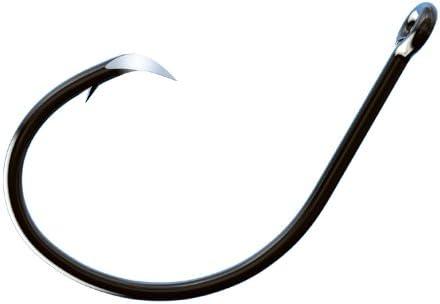 free Trokar AP Circle Non-Offset Fishing Hook Black Pac 8 0 Max 89% OFF Chrome