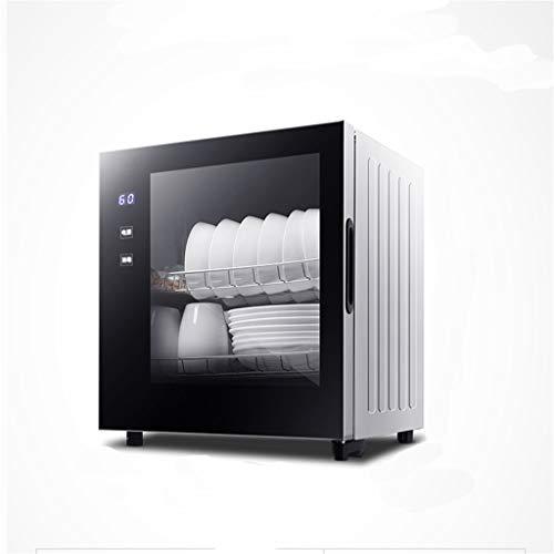 Double-layer desinfectie kast, kleine huishoudelijke verticale hoge temperatuur desinfectie dressoir, mini