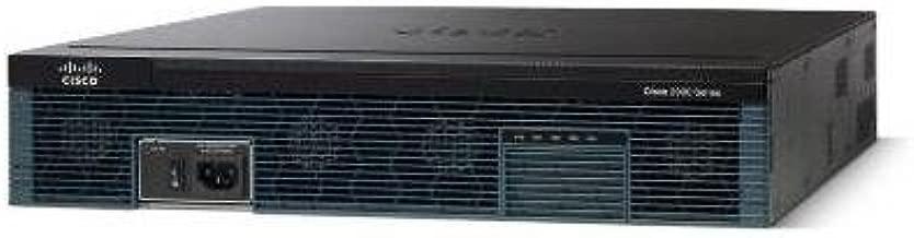 Cisco 2951 Integrated Services Router - 4 x HWIC, 1 x SFP (mini-GBIC), 3 x PVDM, 3 x Services Module, 2 x CompactFlash (CF) Card - 3 x 10/100/1000Base-T Network LAN - CISCO2951-SEC/K9