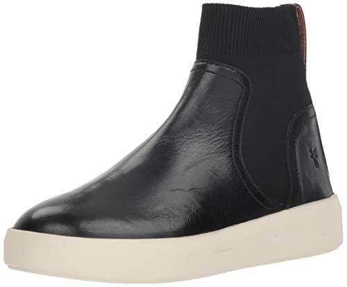 FRYE Women's BREA Chelsea Sneaker, Black, 11 M US
