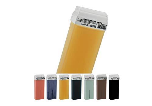 déliktess® - 12 cartouches de cire pour épilation - Roll on au choix - Cire à épiler professionnelle sans colophane (miel)