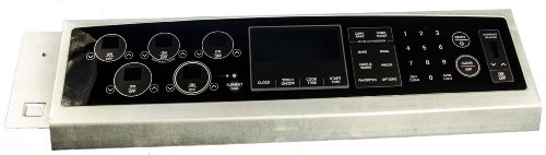 LG Electronics 383EW1N006H Electric Range Touchpad and Control Panel
