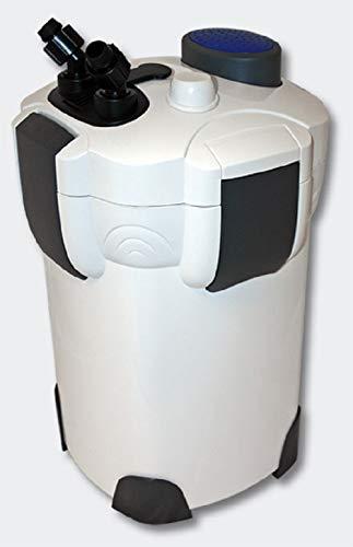 Sunsun HW-303A - Filtro externo, 35W, 1400 L/H, para acuario dulce o marino, máx. 300L, completo con materiales filtrantes