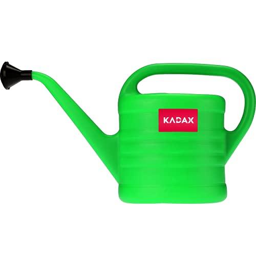 KADAX Regadera de plástico, para Interior y Exterior, Flores, Plantas de Interior y Exterior, Herramientas de jardinería para riego, jardín, casa, Regadera de jardín, Verde (2,5L)