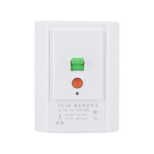 Protección contra rayos de alto voltaje Protección contra fugas, Interruptor de protección contra fugas, Accesorios para aire acondicionado ABS para edificios de oficinas Casas