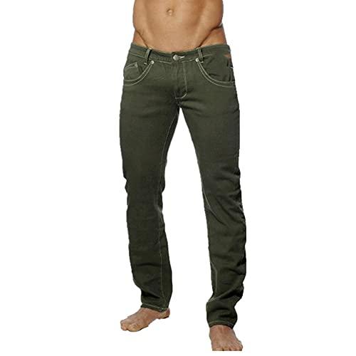 N\P Pantalones para hombre Traje de los Hombres Vestido de Negocios Pantalones Casual Social Pantalón