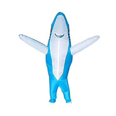 Poptrend Inflatable Costumes Halloween Costume Blow Up Costume for Adult for Halloween, Birthday Gift Cos Play Party