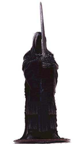 Lord of the Rings Señor de los Anillos Figurine Collection Nº 105 Ringwraith with Morgul Blade -8 cms