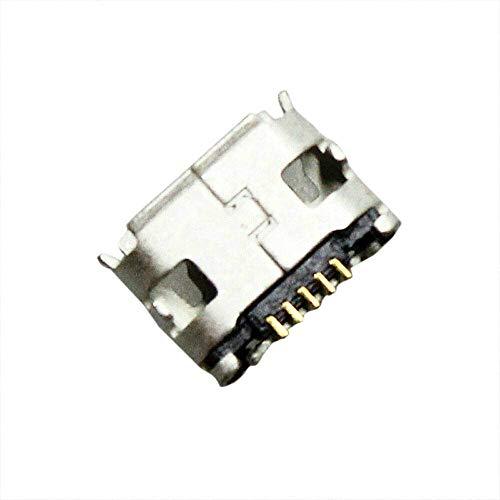YuYue 2X Micro USB Charging Port Female Type SMT SMD Saldatura Jack Connettore Blocco di Ricarica Sostituzione Compatibile con JBL Pulse 2 Pulse 2 Plus Altoparlante Bluetooth