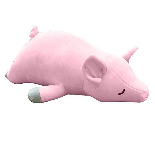 VSFNDB Pig Stuffed Animal Toys 20 Inches Pink Piggy Stuff Plush Toy Pillow for Kids Child Girls Boys