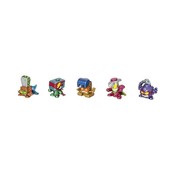 SuperZings – Serie 4 – Display 4×8 Lata Danger Gang (PSZSD48TIN10) con 5 Exclusivos Super Villanos