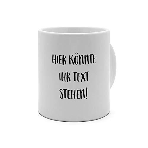XXL-Tasse mit eigenem Text Bedrucken Lassen - XXL Riesen Kaffeebecher mit Wunschtext oder Spruch Personalisieren