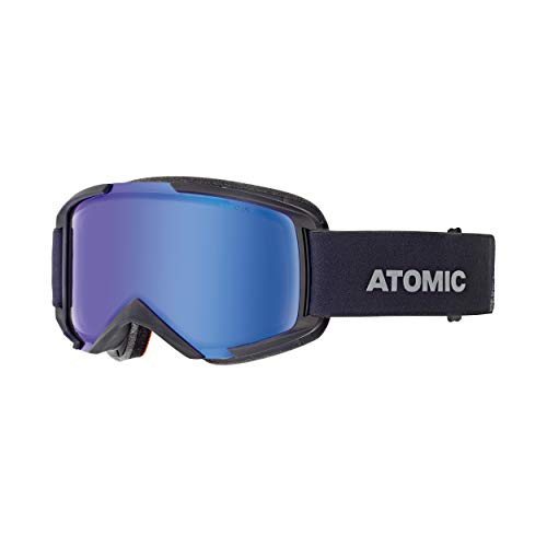 ATOMIC Unisex – Erwachsene Savor Photo Snowboardbrillen, Schwarz/Blau Photochromic, One Size