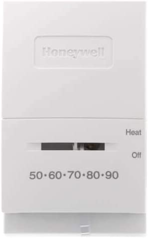 Max 68% OFF Mercury Free T822 Heat Only Thermostat Vertical w Sw Off Special Campaign
