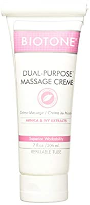 Biotone Dual Purpose Massage Creme 7 oz - Pack of 2 Tubes