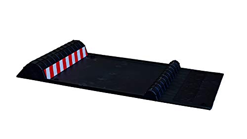 Maxsa Innovations 37358 Park Right 21' x 11' x 2' Parking Mat, Black
