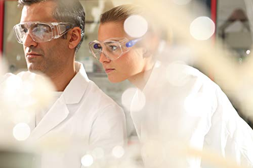 Dräger Schutzbrille X-pect 8110   Überbrille auch für Brillenträger   Für Baustelle, Labor, Werkstatt und Fahrrad-Fahren   Leicht, klar und mit indirekter Belüftung   1 St. - 7