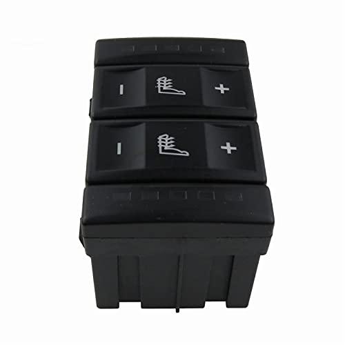 Lyqfff para Ford Mondeo MK3 S MAX, Interruptor de calefacción de Asiento eléctrico de 2 Colores 6M2T 19K314 AC 6M2T19K314AC